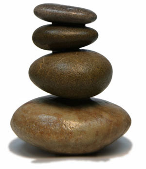 rocks single stack Welcome to Women in Balance Institute!